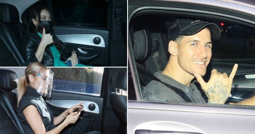 Strictly Come Dancing 2021: Stars and dancers leave studio post-rehearsals ahead of first live show