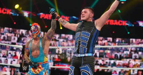 WWE legend Rey Mysterio insists plans to wrestle son Dominik have been thrown 'in the trash'