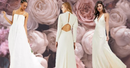 Eight wedding dresses for brides on a budget