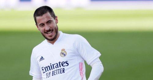 Zinedine Zidane provides Eden Hazard injury update ahead of Chelsea reunion