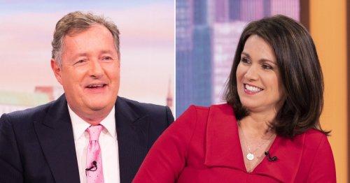 Susanna Reid celebrates Good Morning Britain ratings boost after Piers Morgan's exit