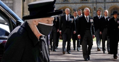 Queen 'spent most of last week alone' grieving Prince Philip