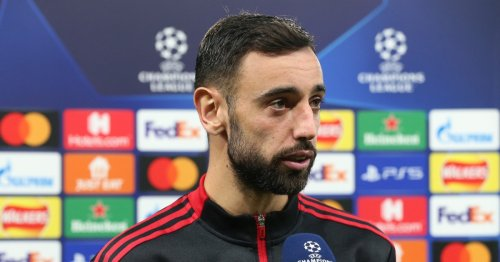 Bruno Fernandes defends his poor first-half performance in Manchester United's win against Atalanta