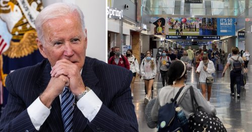 Joe Biden issues new vaccine rules for international travellers coming to the US