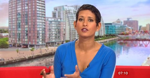BBC Breakfast's Naga Munchetty has brilliant response to 'b***end' troll