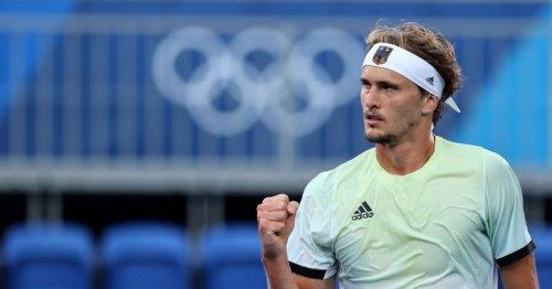 Alexander Zverev follows up Novak Djokovic shock to seal historic Olympic gold