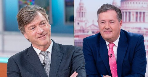 Richard Madeley 'new favourite to replace Piers Morgan on Good Morning Britain' and will appear in June