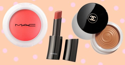 For easy summer makeup, sheer and balmy textures are the way to go – here are our top buys