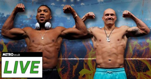 Anthony Joshua vs Oleksandr Usyk live: Round-by-round updates and undercard results