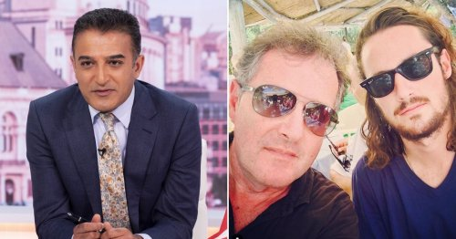 Piers Morgan's son Spencer rips into 'virtue signalling' Adil Ray over Simone Biles and Ben Stokes criticism