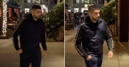 Zayn Malik spotted for the first time in months as he arrives at New York home for daughter Khai's first birthday