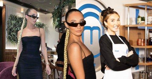 Megan McKenna has a very different look from Celebrity MasterChef