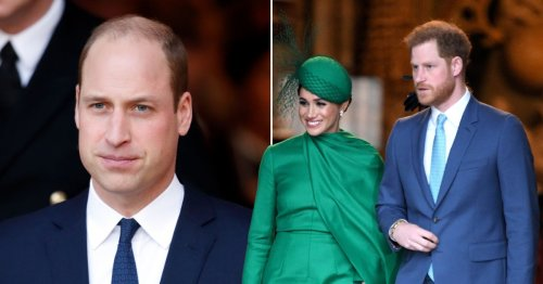 """William 'thought Harry and Meghan's actions were """"insulting"""" to the Queen'"""
