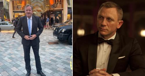 Piers Morgan 'reveals' himself as Daniel Craig's James Bond replacement