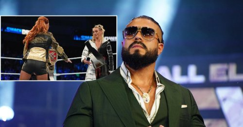 AEW star Andrade El Idolo blasts WWE after fiancée Charlotte Flair's Championship Exchange with Becky Lynch