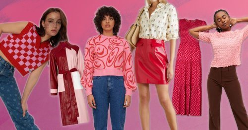 Red and pink is the colour pairing to be seen in right now – here's what to buy