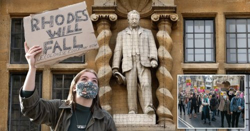 More than 150 Oxford lecturers 'refusing to teach students' over decision to keep Cecil Rhodes statue