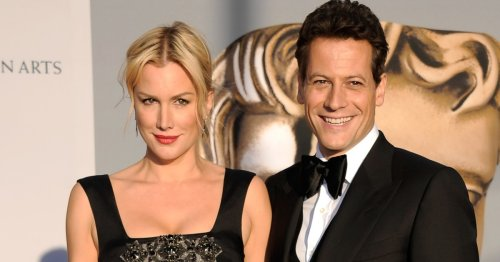 Alice Evans removes wedding ring after estranged husband Ioan Gruffudd goes public with new girlfriend