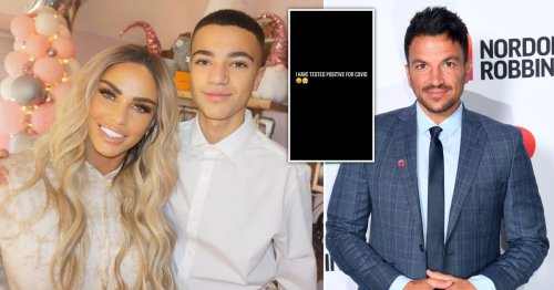 Katie Price's son Junior Andre returns to social media after fighting Covid and he's 'feeling himself'