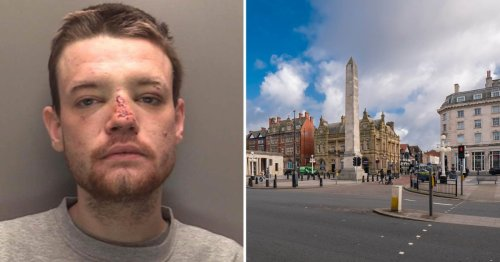 Hero put rapist in chokehold after breaking up 'brutal' attack on lone woman