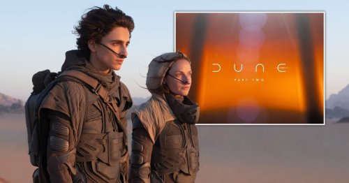 Dune sequel with Timothée Chalamet confirmed with 2023 release date