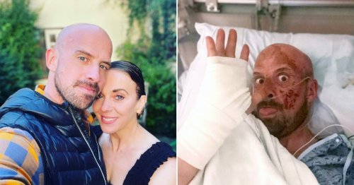 AGT stuntman Jonathan Goodwin confirms he is engaged to Sherlock star Amanda Abbington: 'The best thing to ever happen to me'