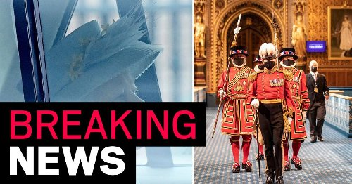 Queen attends first major duty since Philip's death as she opens Parliament