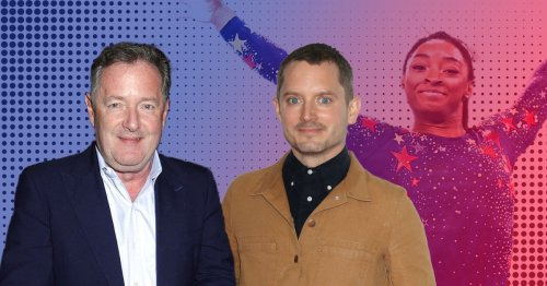Elijah Wood hits out at Piers Morgan over Simone Biles rant as she withdraws from Tokyo Olympics
