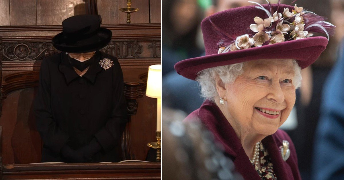 Solo photo of Queen released for her 95th birthday as she mourns Prince Philip