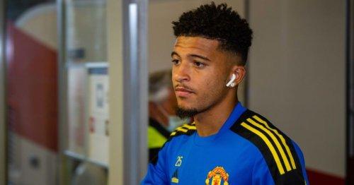 Borussia Dortmund chief speaks out on Jadon Sancho's tough start at Manchester United