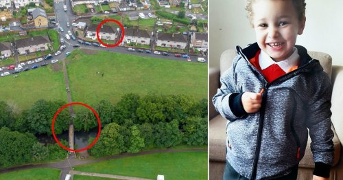 'Mystery man' seen near river where boy, 5, was found dead an hour later