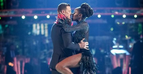 Strictly Come Dancing 2021: AJ Odudu and Kai Widdrington 'dating' as sparks fly backstage