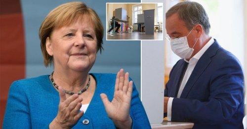 German election on knife edge as vote begins to name Angela Merkel's successor