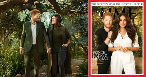 Harry and Meghan 'humbled' to be named among world's top 100 most influential people