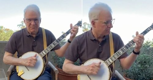Steve Martin's latest banjo video is just so pure – but we'd expect nothing less from a Grammy award winner