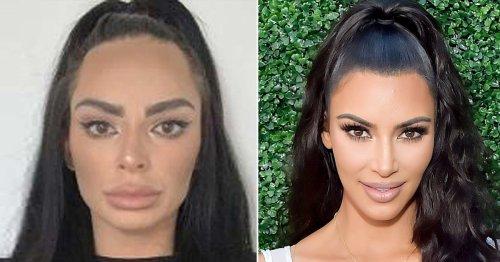Jailed smuggler described as 'Kim Kardashian lookalike' looks nothing like star