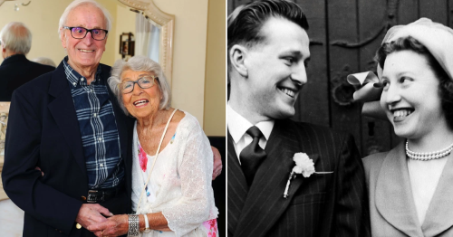 Couple married for 70 years reveal their secrets to a happy relationship