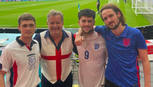 Piers Morgan caught Covid-19 after Euro 2020 final at Wembley: 'The roughest I've ever felt'