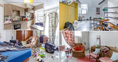 Two-bed Cornwall house on sale for £40,000 – but there's a bit of mess to clean