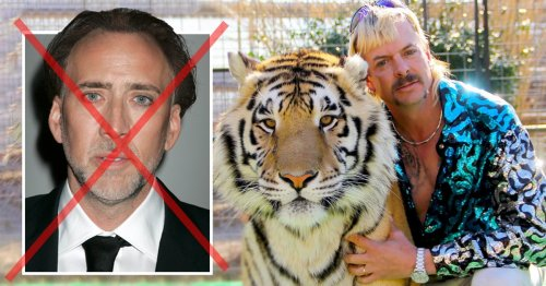 Tiger King mini-series finally casts its Joe Exotic – and we're sorry to tell you it's not Nicolas Cage