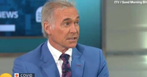 Piers Morgan's Covid battle used by Dr Hilary Jones as stark warning for Good Morning Britain viewers