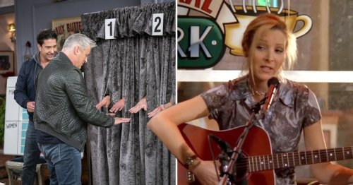From Joey being reunited with his hand twin to Lady Gaga's rendition of Smelly Cat: The best moments from the Friends Reunion to get you hyped