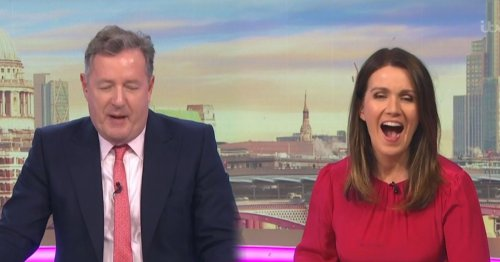 Susanna Reid gives special shout out to Piers Morgan as Good Morning Britain finally beats This Morning to win big prize