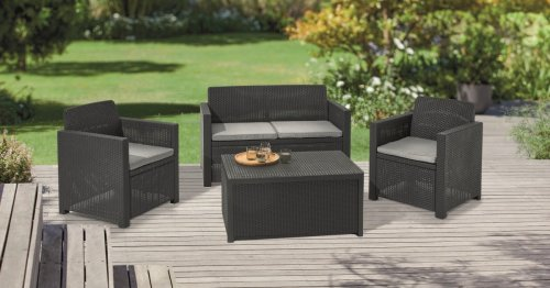 Lidl come to the rescue during garden furniture shortage with £199 rattan set