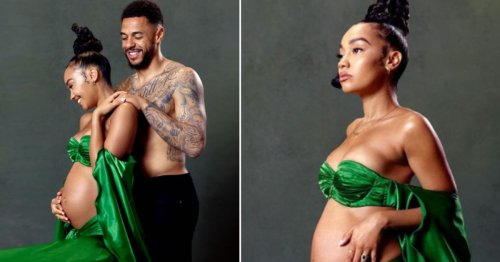 Leigh-Anne Pinnock 'beyond blessed' as she shares joyful outtakes from pregnancy shoot
