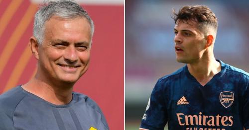 Jose Mourinho drops hint over Granit Xhaka transfer on Instagram