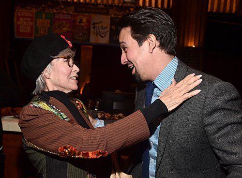 Rita Moreno 'incredibly disappointed with herself' for defending Lin-Manuel Miranda over colourism claims