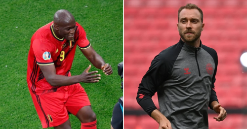 'Chris, I love you' – Romelu Lukaku pays tribute to Inter Milan team-mate Christian Eriksen after Belgium goal