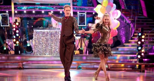 Strictly's Dan Walker will perform a jive on Halloween week dressed as a 6ft 6 lobster