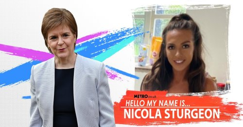 My name is Nicola Sturgeon but I was against Scottish independence